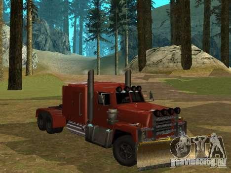 Petroltanker v2 для GTA San Andreas вид слева