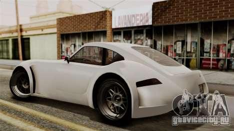 GTA 5 Bravado Verlierer IVF для GTA San Andreas вид сзади слева