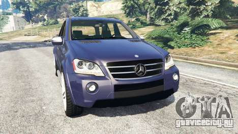 Mercedes-Benz ML63 (W164) 2009 для GTA 5