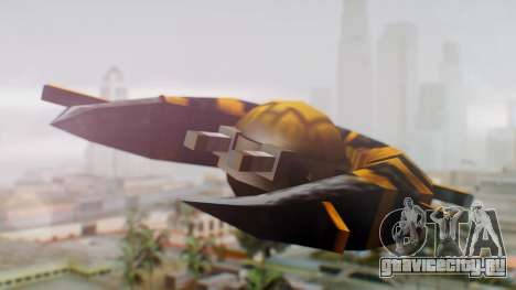 Alien Ship Yellow-Black для GTA San Andreas