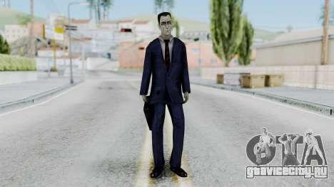 GMAN v1 from Half Life для GTA San Andreas второй скриншот