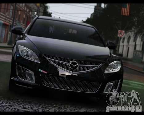 Mazda 6 Sport для GTA 4 вид сзади слева