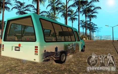 Iveco Custom Odessa для GTA San Andreas вид слева