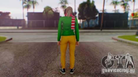 GTA Online Festive Surprise Skin 1 для GTA San Andreas третий скриншот