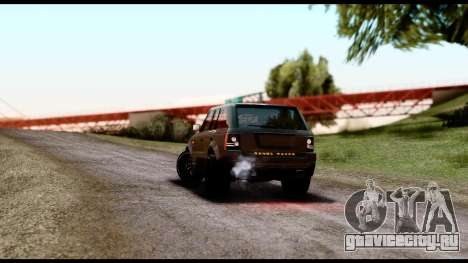New HD Roads для GTA San Andreas второй скриншот