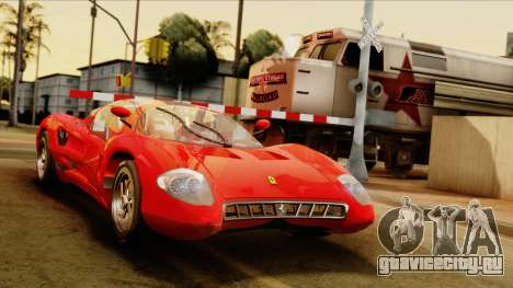 Ferrari P7 Coupè для GTA San Andreas