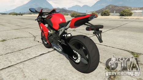 Honda CBR1000RR [Red] для GTA 5