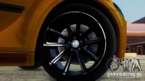 BMW 750Li M Sport для GTA San Andreas вид сзади слева