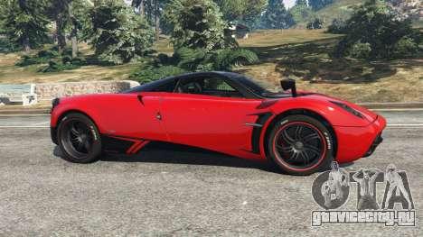 Pagani Huayra 2013 v1.1 [black and red rims] для GTA 5