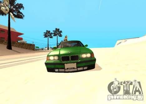 BMW E36 320i для GTA San Andreas вид справа
