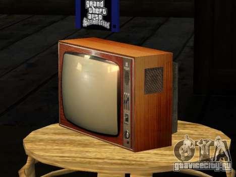 Телевизор Берёзка-212 для GTA San Andreas