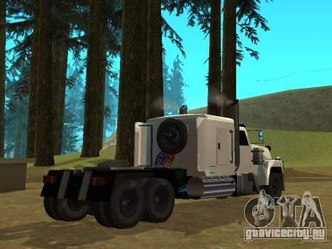 Petroltanker v2 для GTA San Andreas вид сзади слева