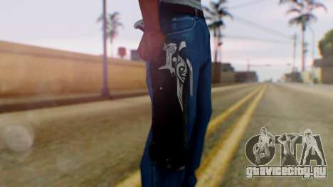 Reaper Weapon - Overwatch для GTA San Andreas третий скриншот