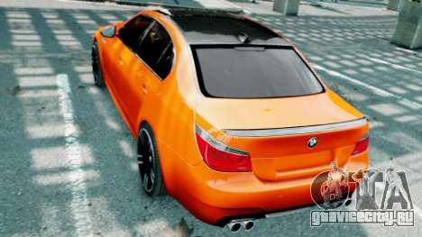 BMW M5 E60 для GTA 4 салон