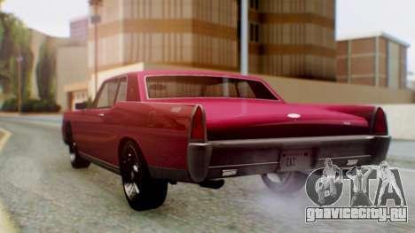 GTA 5 Vapid Chino Tunable PJ для GTA San Andreas вид слева