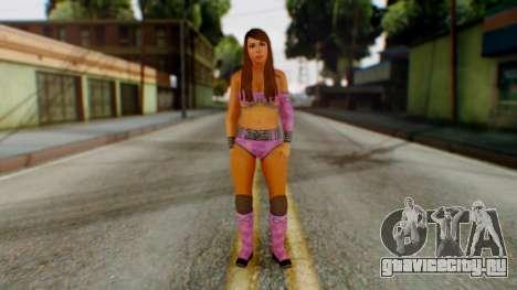 Layla WWE для GTA San Andreas второй скриншот