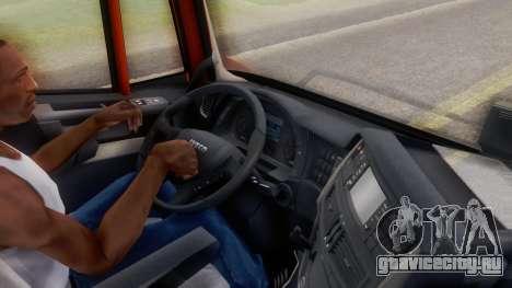 Iveco Stralis HI-WAY для GTA San Andreas вид сзади
