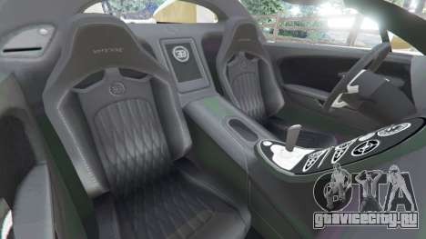 Bugatti Veyron Grand Sport Vitesse для GTA 5 вид справа