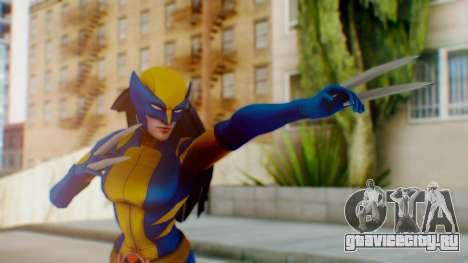 Marvel Heroes X-23 (All new Wolverine) v1 для GTA San Andreas