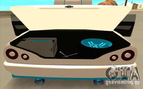 Elegy DRIFT KING GT-1 [2.0] (New wheels) для GTA San Andreas вид изнутри