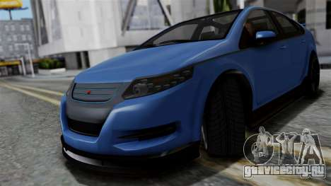 GTA 5 Cheval Surge для GTA San Andreas вид сзади слева