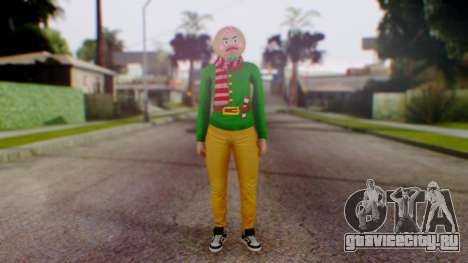 GTA Online Festive Surprise Skin 1 для GTA San Andreas второй скриншот