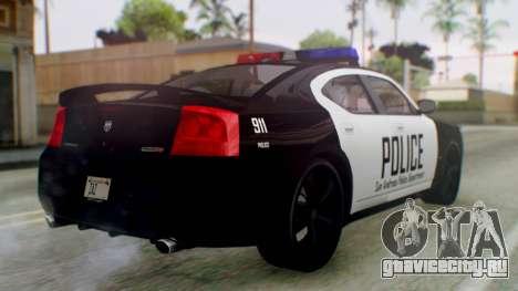 New Police LV для GTA San Andreas вид слева