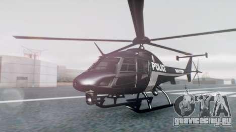 New Police Maverick для GTA San Andreas