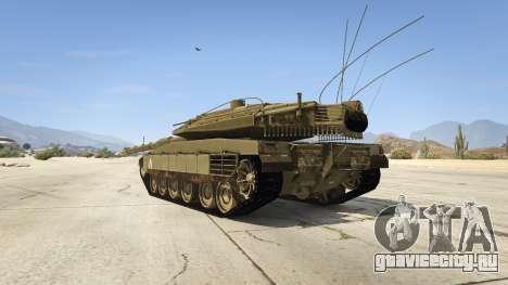 Merkava IV для GTA 5