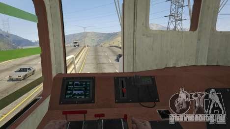 Monster Train для GTA 5 вид сзади