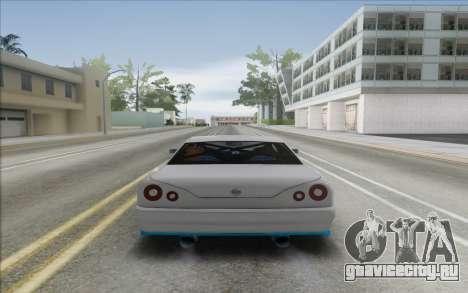 Elegy DRIFT KING GT-1 [2.0] (New wheels) для GTA San Andreas вид справа