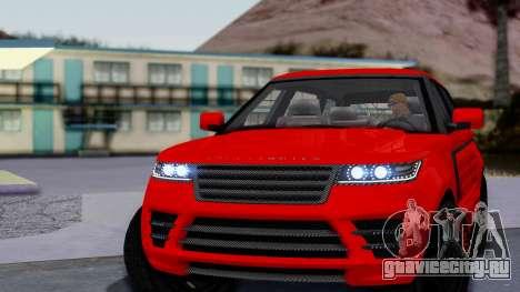 GTA 5 Gallivanter Baller LE LWB Arm для GTA San Andreas