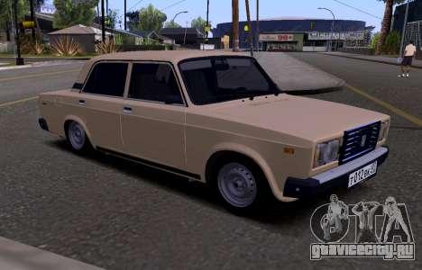 ВАЗ 2107 KBR для GTA San Andreas