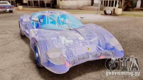 Ferrari P7 Crystal для GTA San Andreas
