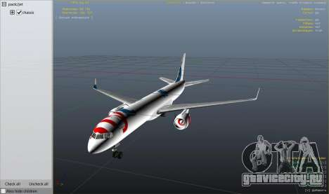 Boeing 757-200 для GTA 5 девятый скриншот