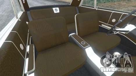 Chevrolet Impala SS 1964 v2.0 для GTA 5 вид справа