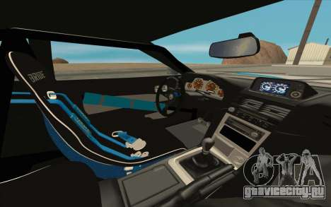Elegy DRIFT KING GT-1 [2.0] (New wheels) для GTA San Andreas салон