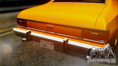 Ford Gran Torino 1974 для GTA San Andreas вид сбоку