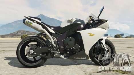 Yamaha YZF-R1 2014 для GTA 5 вид слева
