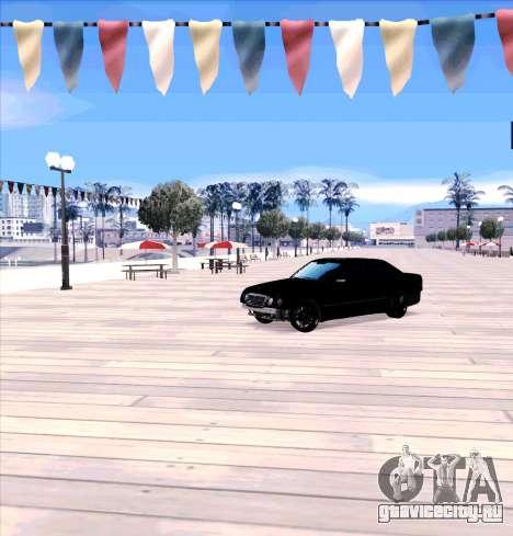 Mercedes Benz E-Class для GTA San Andreas вид слева