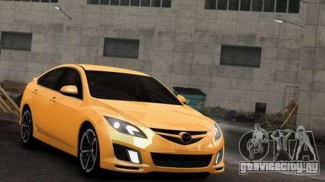 Mazda 6 Sport для GTA 4