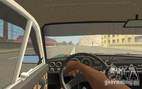 ВАЗ 2103 Спорт-тюнинг для GTA San Andreas вид сзади