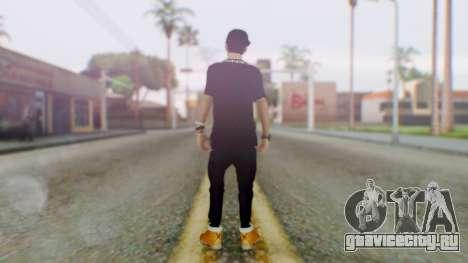 Skin Swagger Sasuke Uchiha для GTA San Andreas третий скриншот