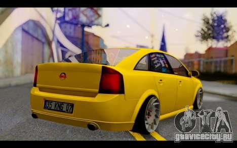 Opel Vectra Special для GTA San Andreas вид слева