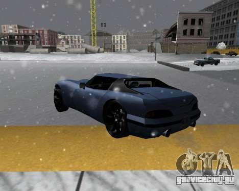 New Banshee с крышей для GTA San Andreas вид слева