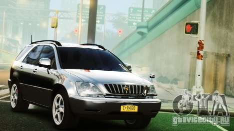 Toyota Harrier для GTA 4