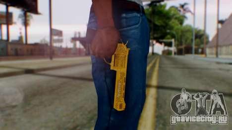 GTA 5 VIP Revolver для GTA San Andreas третий скриншот