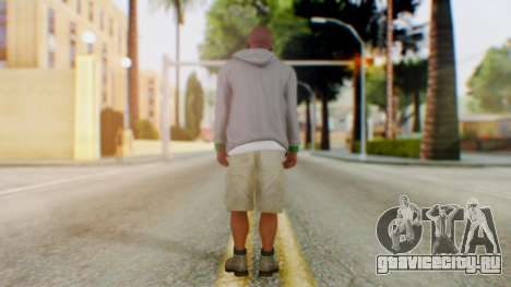 GTA 5 Franklin для GTA San Andreas третий скриншот