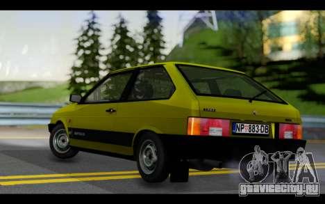 Lada Samara для GTA San Andreas вид сзади слева