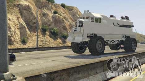 Monster Train для GTA 5 вид спереди справа